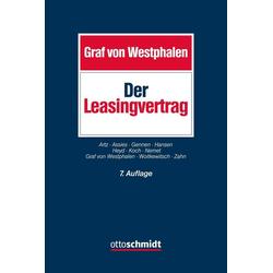 Der Leasingvertrag als Buch von
