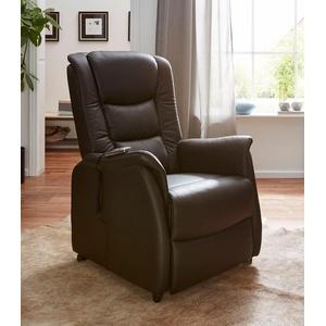 Duo Collection TV-Sessel, in NaturLEDER braun Fernsehsessel und TV-Sessel Sessel