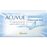Acuvue Oasys for Astigmatism (6 Linsen) / 8.60 BC / 14.50 DIA / -2.25 DPT / -2.75 CYL / 180°