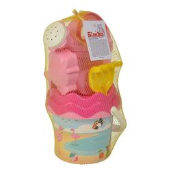 Simba 107114405 - Flamingo Baby Eimergarnitur Sandspielzeug