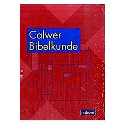 Calwer Bibelkunde. Ferdinand Ahuis  Claus Westermann  - Buch