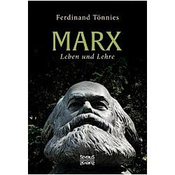 Karl Marx. Ferdinand Tönnies  - Buch