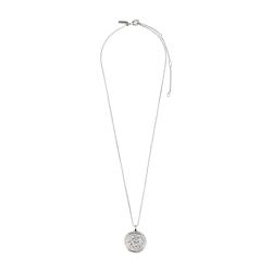 Pilgrim Damen Halskette 'Gemini Zodiac Sign' silber, Größe One Size, 4862049