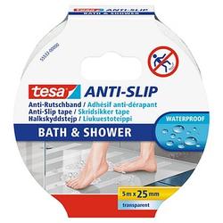 tesa Antirutschband Bad und Dusche  transparent