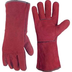 Toparc 045101 Rindspaltleder Schweißerhandschuh Größe (Handschuhe): 10 EN 388-2003 , EN 407-04 1