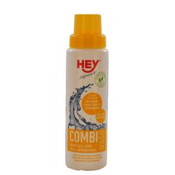 HEY-SPORT Leder-Combi-Wash Waschmittel, Spezialwaschmittel für Reit- und Radlerhosen, 250 ml - Flasche