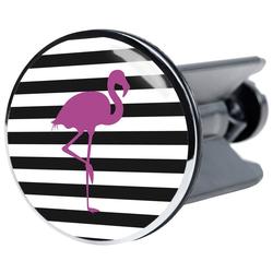 Sanilo Stöpsel Flamingo, für Waschbecken, Ø 4 cm