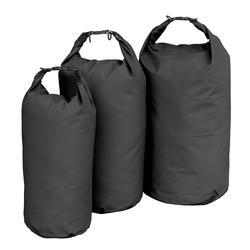 Mil-Tec Transportsack Wasserdicht schwarz, Größe 10 Liter