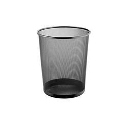 Lüllmann Papierkorb Mesh-Papierkorb, 15 Liter, 267 x 280 mm, 15 Liter Volumen