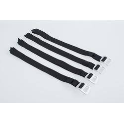 SW-Motech Legend Gear strap set - 4 loopbandjes / 2 montagebandjes.