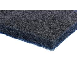 Akustikschaumstoff, schwarz, 2 x 1m, 12mm