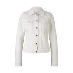 TOM TAILOR DENIM Damen Jeansjacke in Weiß, weiß, Gr.XS