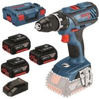 Bosch GSR 18V-28 Professional inkl. 3 x 3,0 Ah + L-Boxx (06019H4103)