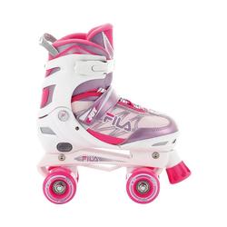 Fila Skates Rollschuhe Rollschuhe Joy G white/pink/violet Größe S (31-34) 31-34