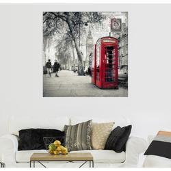 Posterlounge Wandbild, Postkarte von London 50 cm x 50 cm