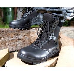 Armee Stiefel, Farbe schwarz Gr. 42