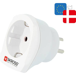 Skross 1.500232-E Reiseadapter CA EU to DEN