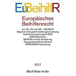 Europäisches Beihilfenrecht (EuBeihilfR) - Buch