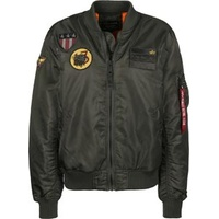 Alpha Industries MA-1 Air Force schwarz-grau L