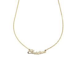 Firetti Kette mit Anhänger Namenskette, glänzend, massiv, personalisierbar