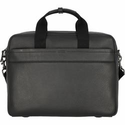 Bree Aiko 3 Aktentasche Leder 37 cm Laptopfach black
