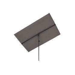 blumfeldt Sonnenschirm Flex-Shade XL Sonnenschirm 150 x 210 cm Polyester UV 50 dunkelgrau