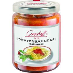 Grashoff Tomatensauce No. 1 , mit Fleisch, auf Bologneser Art, 200 ml, 3er Pack (3 x 200 ml)