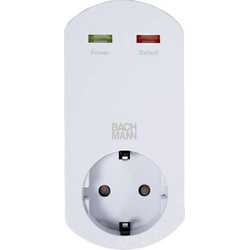 Bachmann 4953446 Überspannungsschutz-Zwischenstecker Weiß