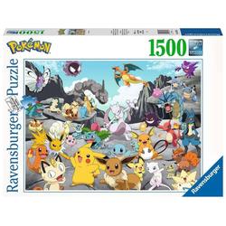 Ravensburger Puzzle 16784 Pokemon Classics 1500 Teile Puzzle, Puzzleteile bunt