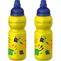 Fizzii Trinkflasche Fizzii Trinkflasche Hände, 330ml