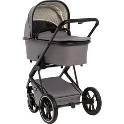 Moon Kombi-Kinderwagen Kombi Kinderwagen Style, stone grau