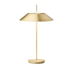 Mayfair Tischleuchte - Stahl / Gold Satiniert