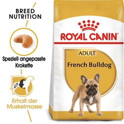ROYAL CANIN French Bulldog Adult Hundefutter trocken für Französische Bulldoggen 1,5 kg
