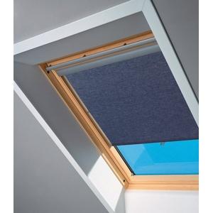 VELUX Sichtschutzrollo , für Fenstergröße 102 und 104, blau blau 102/104