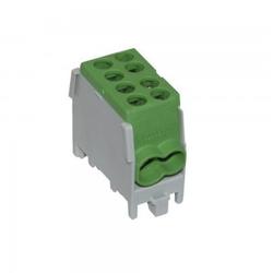 Hauptleitungs Abzweigklemme Kabelklemme 1,5-25mm2 1P VDE FVK-25-1/2 GRÜN 0800