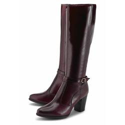 Klassische Stiefel Fashion-Stiefel COX bordeaux