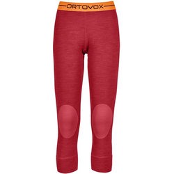 Ortovox 185 Rock'n Wool - Unterhose 3/4 lang - Damen Red M