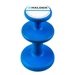 Halder Magnethalter blau 3688.002 Neodym Magnete Topfmagnet Haltekraft 2 Zonen