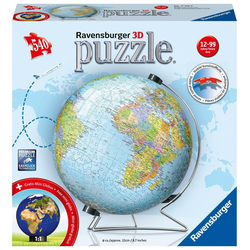 Globus in deutscher Sprache Puzzleball 540 Teile