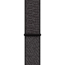 Apple Watch Nike+ Series 4 (GPS + Cellular) 40mm Aluminiumgehäuse space grau mit Loop Sportarmband schwarz