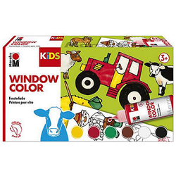 Kids Window Color Farmer Sortierung 6X80 ml
