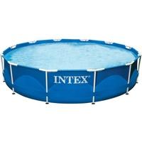 Intex Metal Frame Rondo Set  732 x 132 cm inkl. Kartuschenfilteranlage