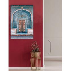 queence Acrylglasbild Tür 80 cm x 120 cm x 2,4 cm