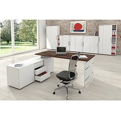 FORM 4 Büromöbel Set, 1 Arbeitsplatz 300x500