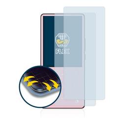 BROTECT Schutzfolie für AGPtek H9, (2 Stück), Full-Cover 3D Curved klar