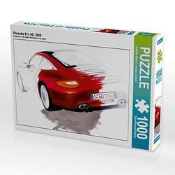 Porsche 911 4S, 2009 Lege-Größe 64 x 48 cm Foto-Puzzle Bild von design, bartsch. Puzzle
