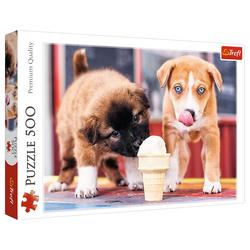 Trefl Puzzle Trefl 37272 Hunde Eiszeit 500 Teile Puzzle, 500 Puzzleteile