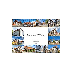 Oberursel Impressionen (Tischkalender 2021 DIN A5 quer)