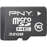 PNY microSDHC HP 32GB Class 10 + SD-Adapter