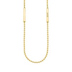 JOOP! JOOP! Halskette Damen Halskette (75 cm) von JOOP!, Edelstahl mit IP Gold Beschichtung